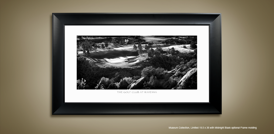Golf Photography - Black White
